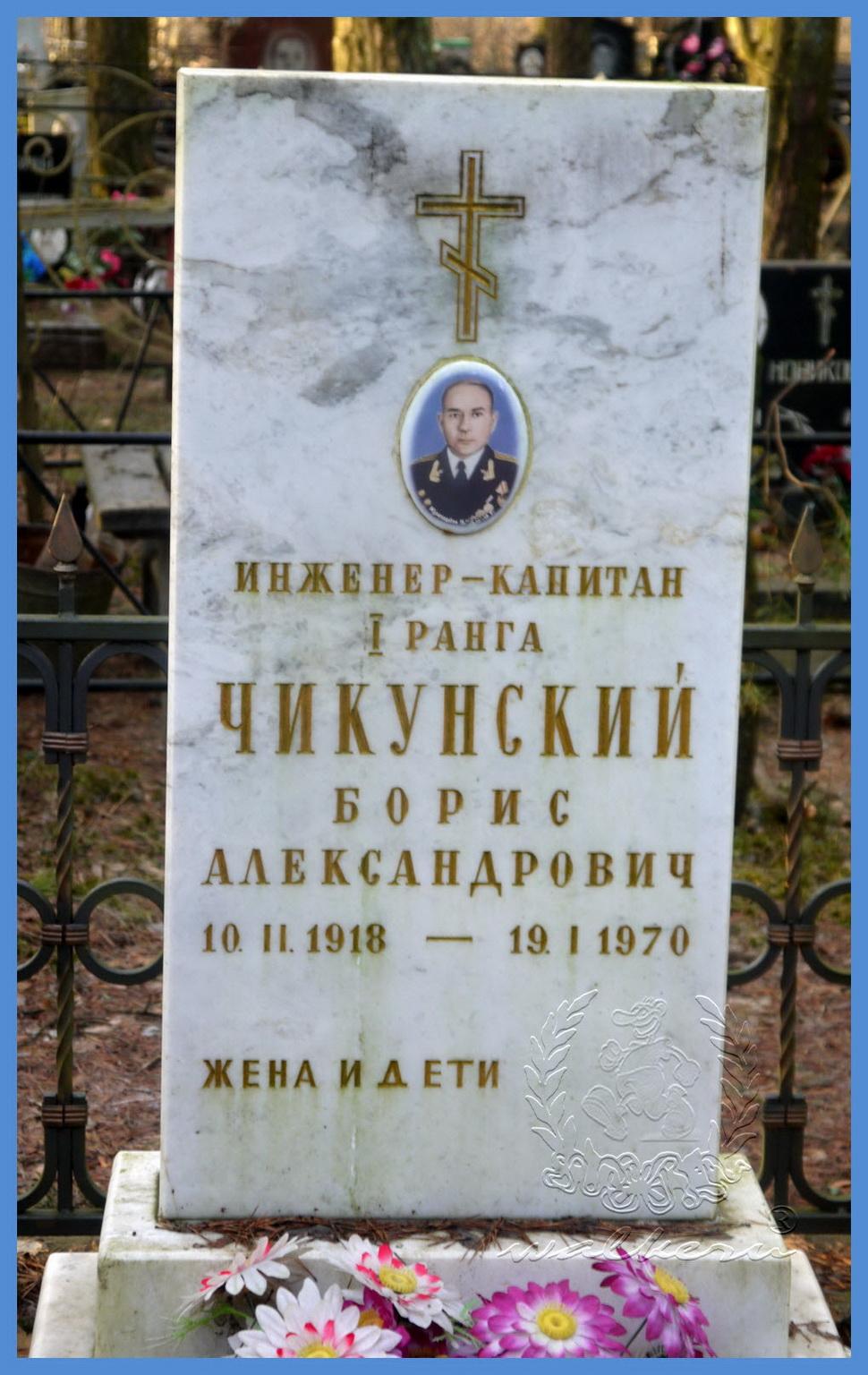 Чикунский Борис Александрович