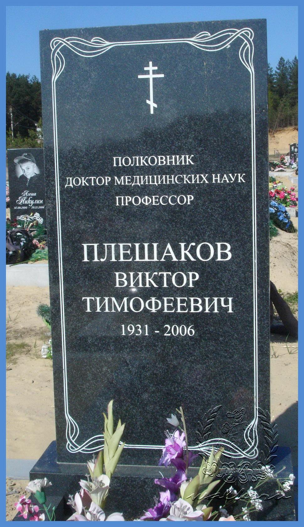Плешаков Виктор Тимофеевич