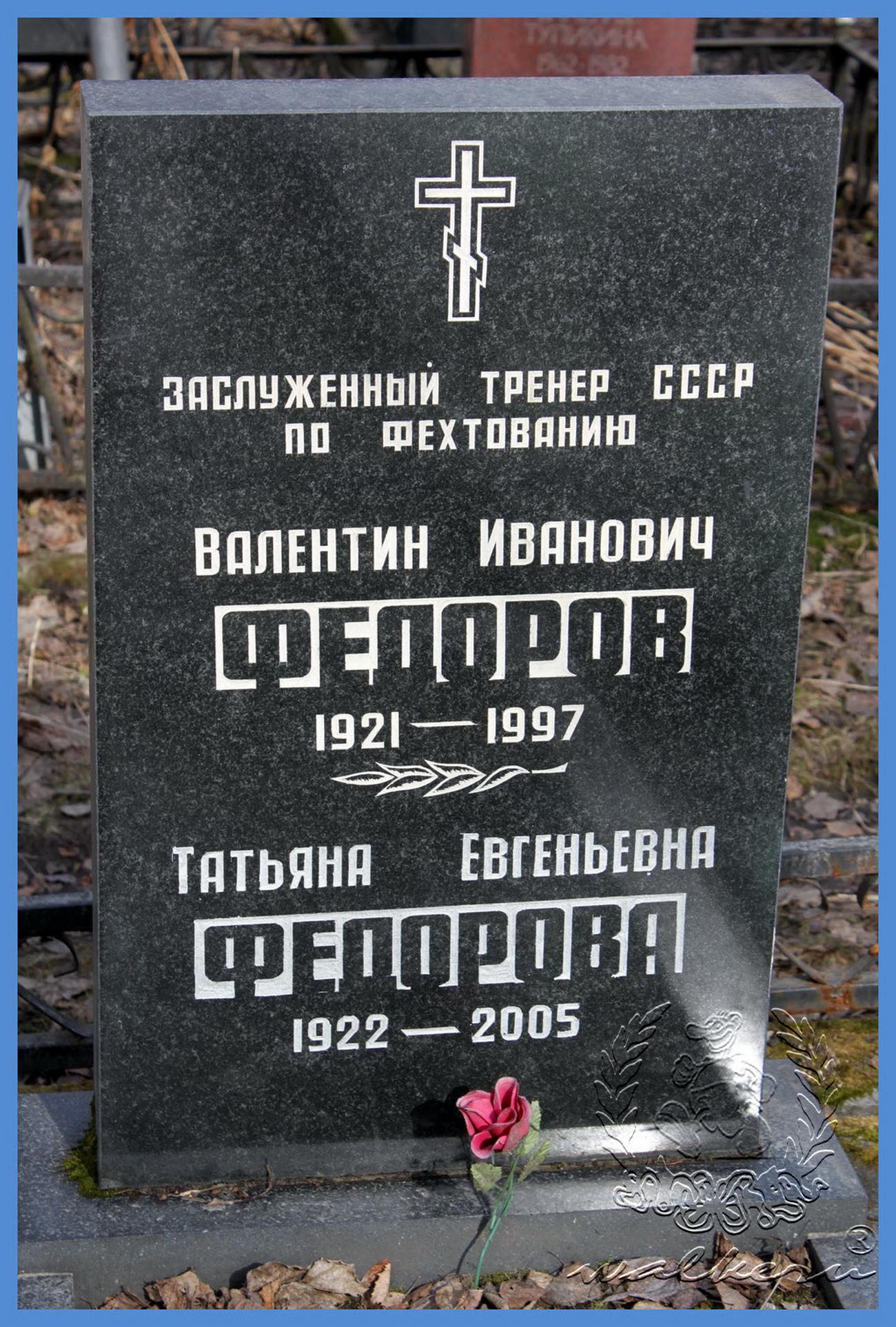 Фёдоров Валентин Иванович