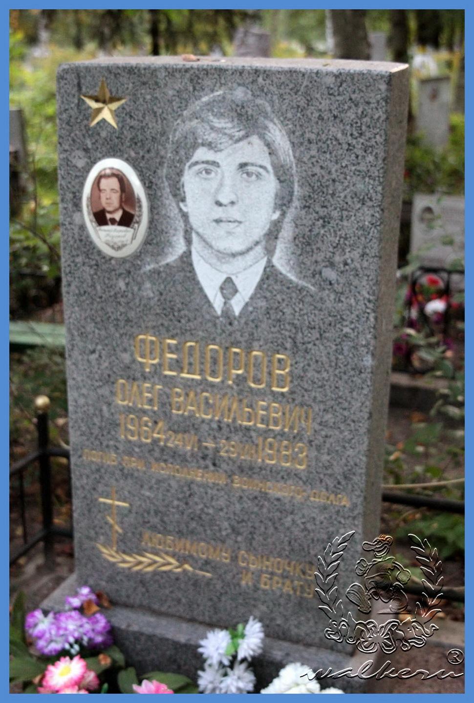 Фёдоров Олег Васильевич