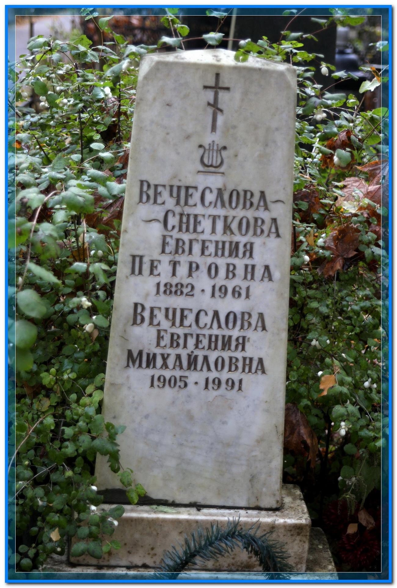 © Вечеслова-Снеткова Евгения Петровна