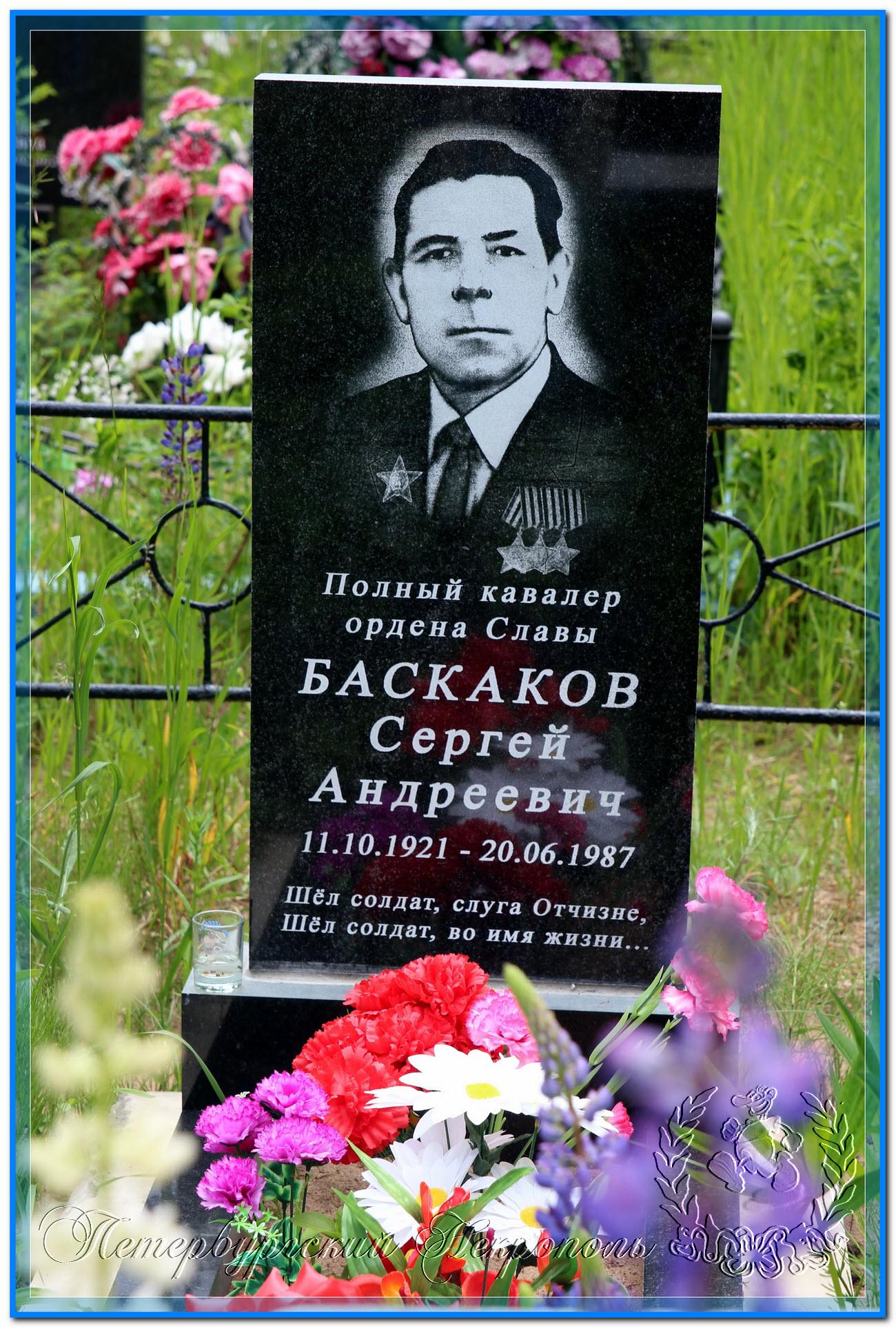 © Баскаков Сергей Андреевич