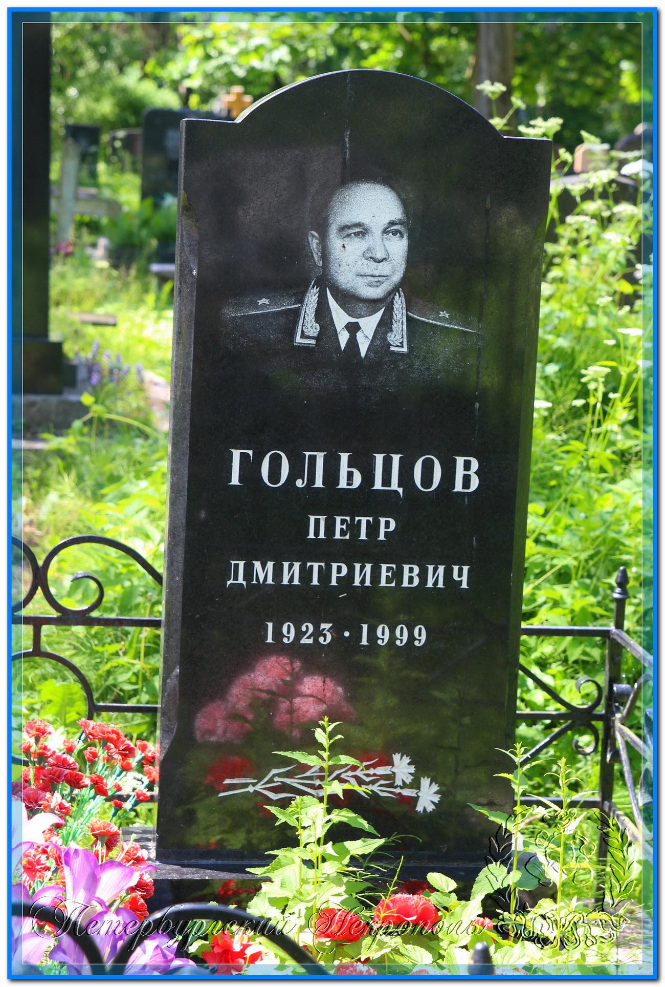 © Гольцов Пётр Дмитриевич