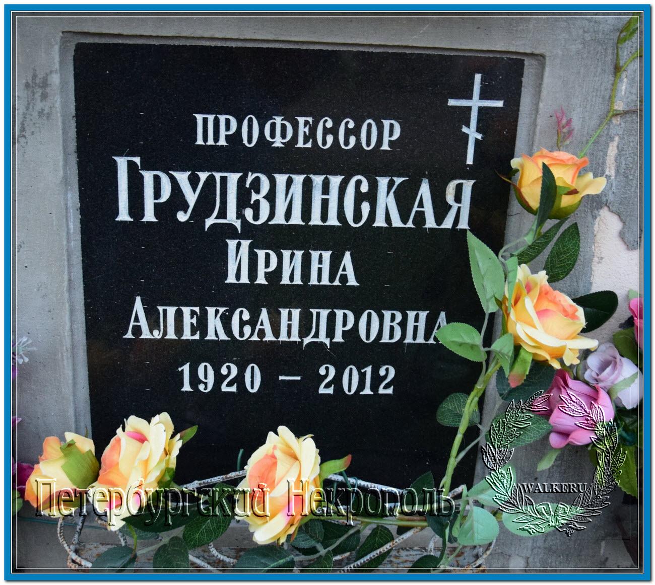 © Грудзинская Ирина Александровна