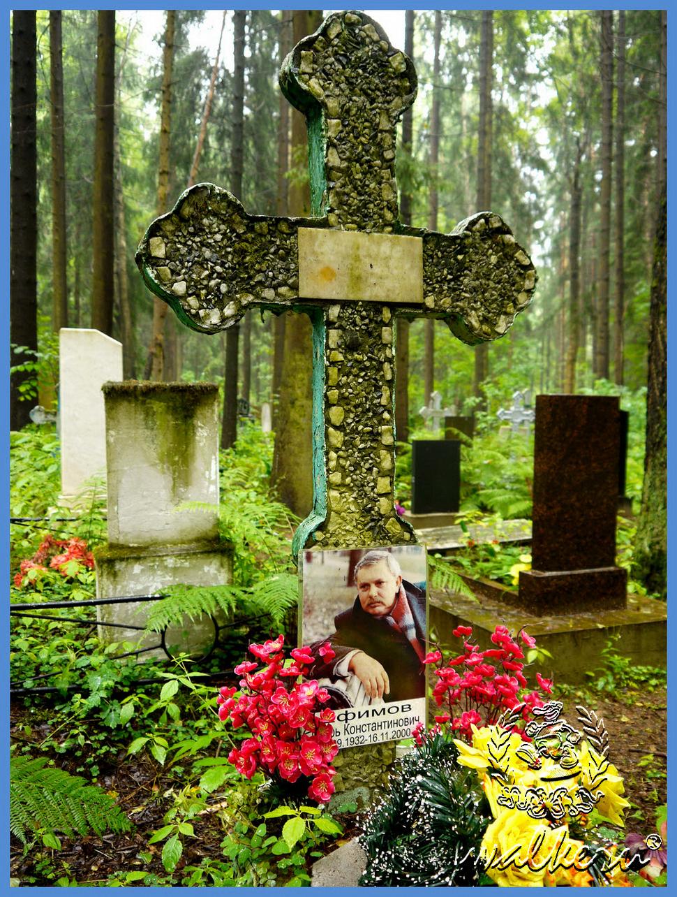 Могила Ефимова И.К. на Северном кладбище