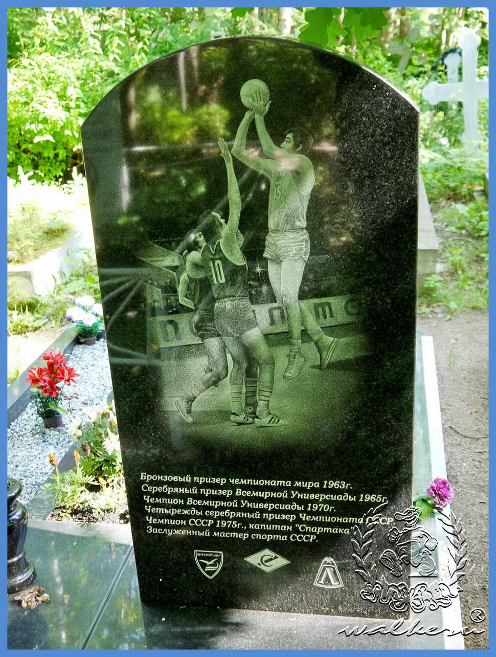 Могила Иванова на Северном кладбище