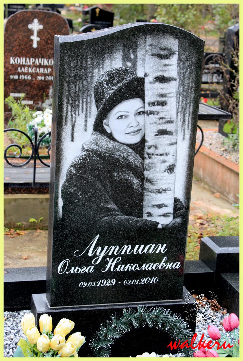 Могила Луппиан О.Н. на Северном кладбище