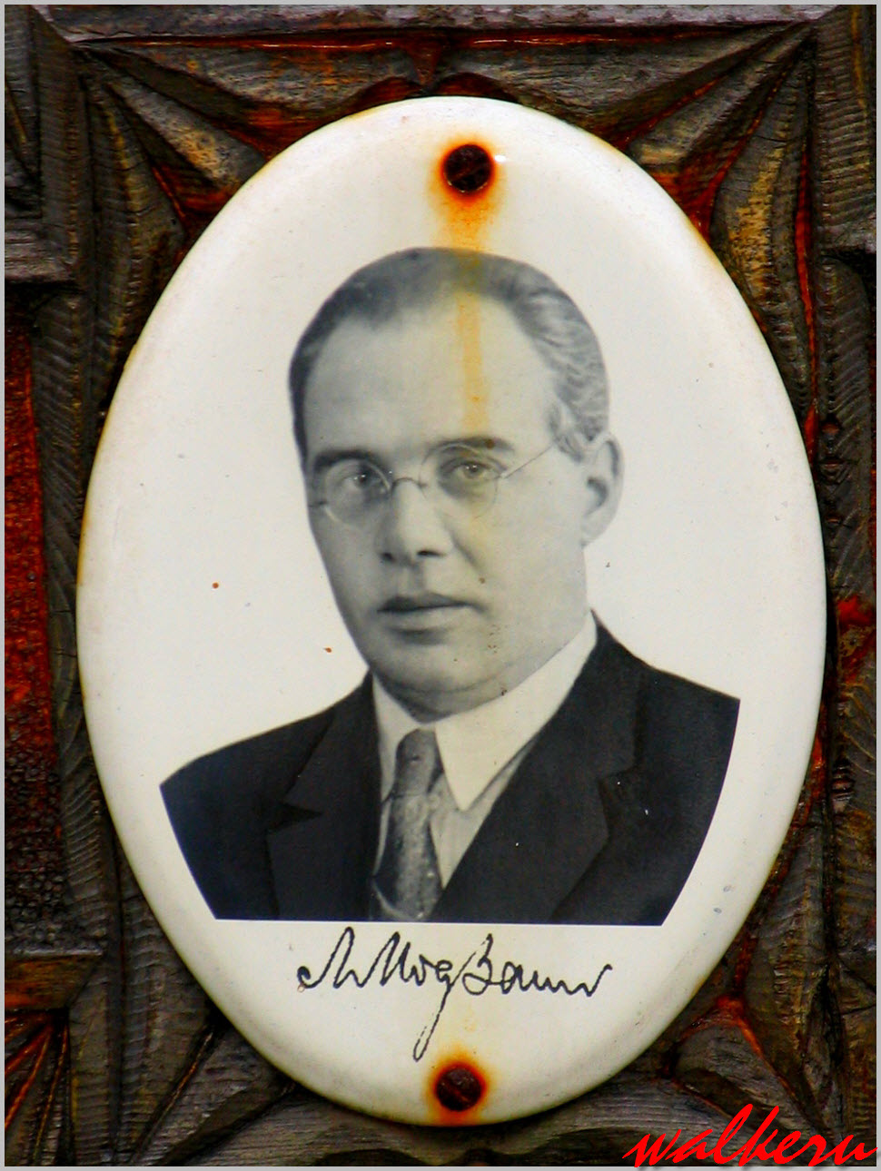 Могила Модзалевского Л.Б. на Волковском кладбище